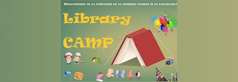 مخيم المكتبة